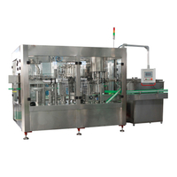 Automatic Carbonated Beverage Filling Machine